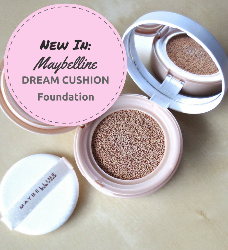 Maybelline Dream Cushion Foundation Header