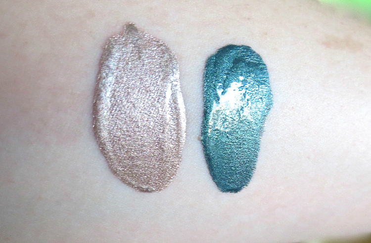 essence glitter in the air metallic eye shadow