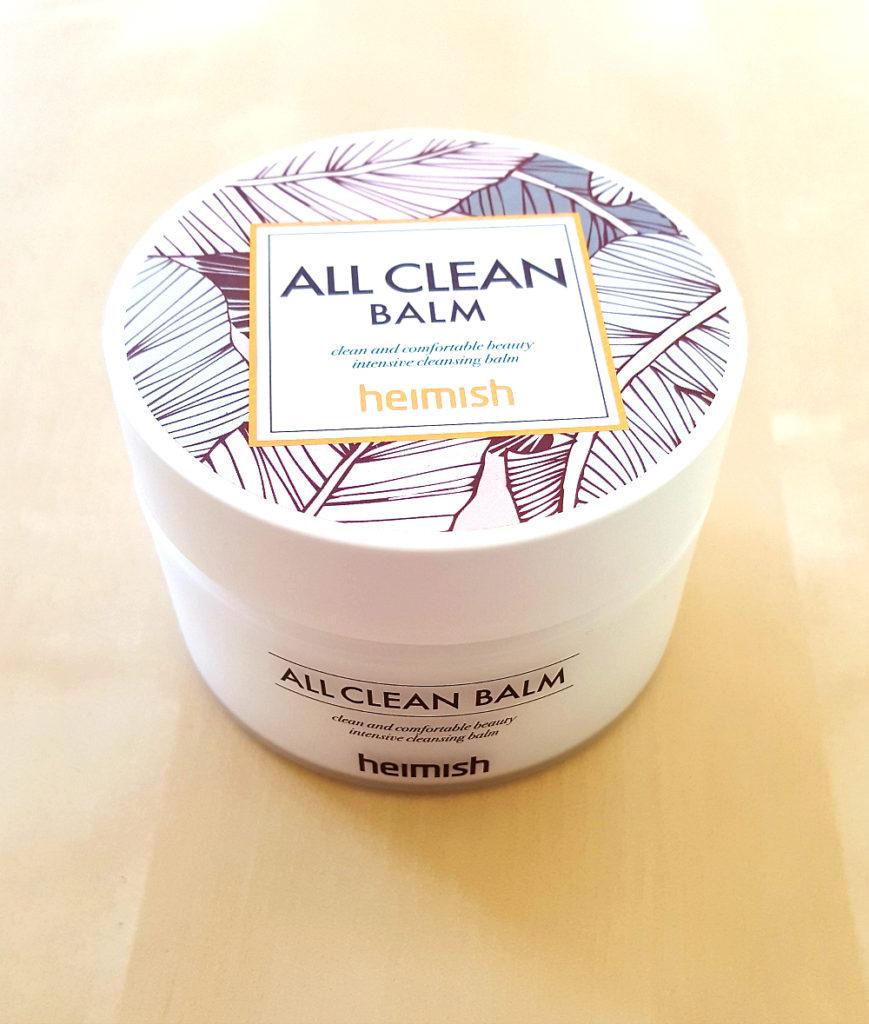 korean skincare 101 gesichtsreinigung - Heimish All Clean Balm Ölbalsam