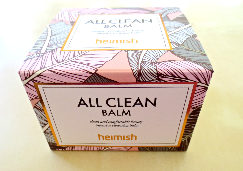 korean skincare 101 heimish all clean balm verpackung