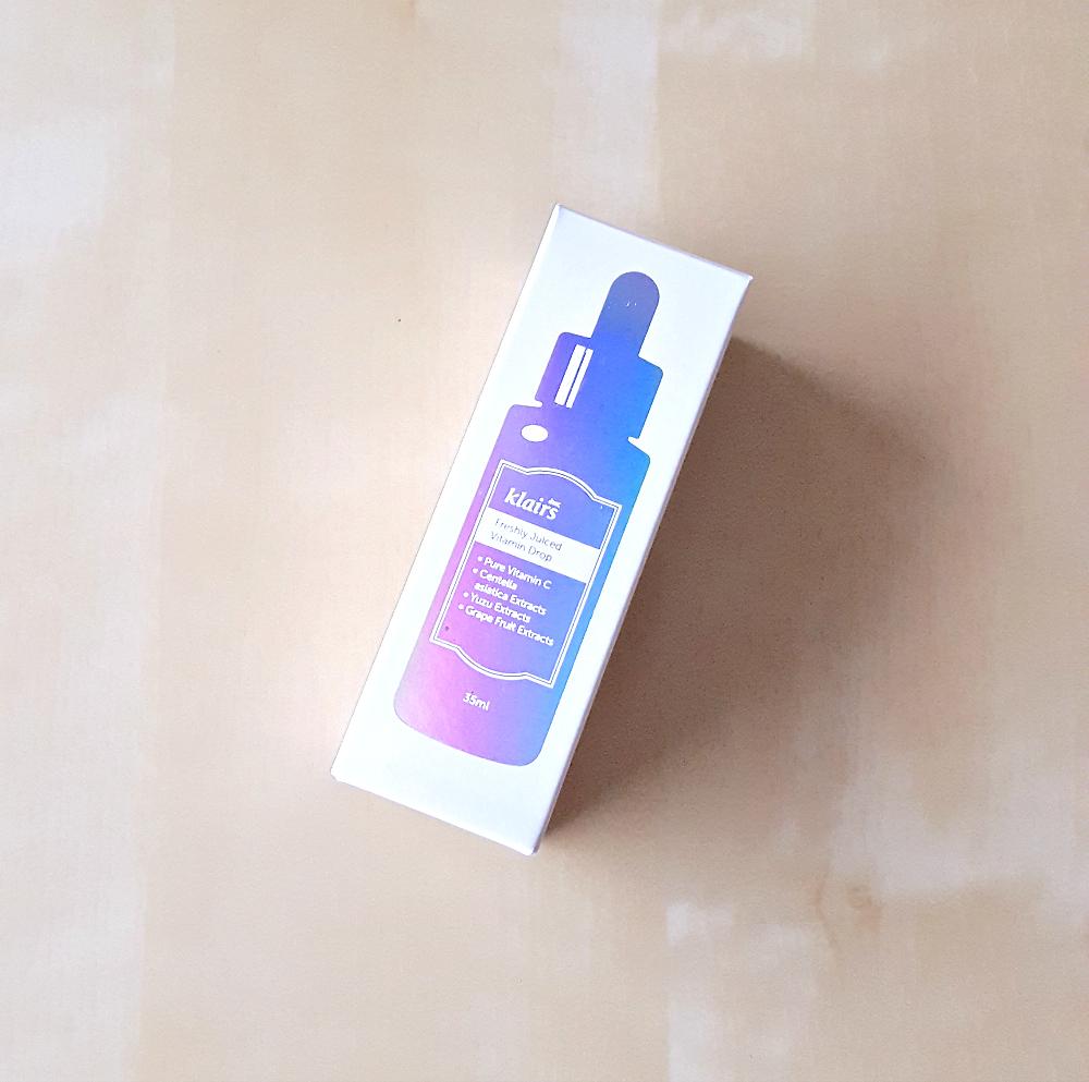 Klairs Freshly Juiced Vitamin Drop Serum Review - Verpackung