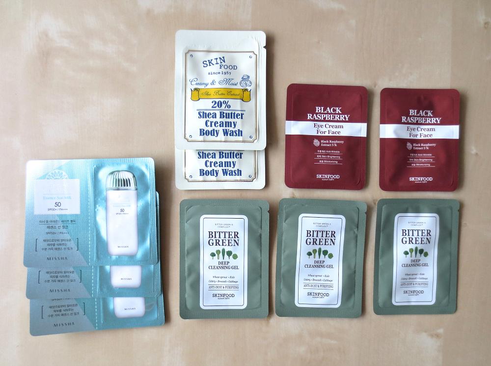 korean skincare 101 - wo kann ich koreanische Kosmetik kaufen? Samples