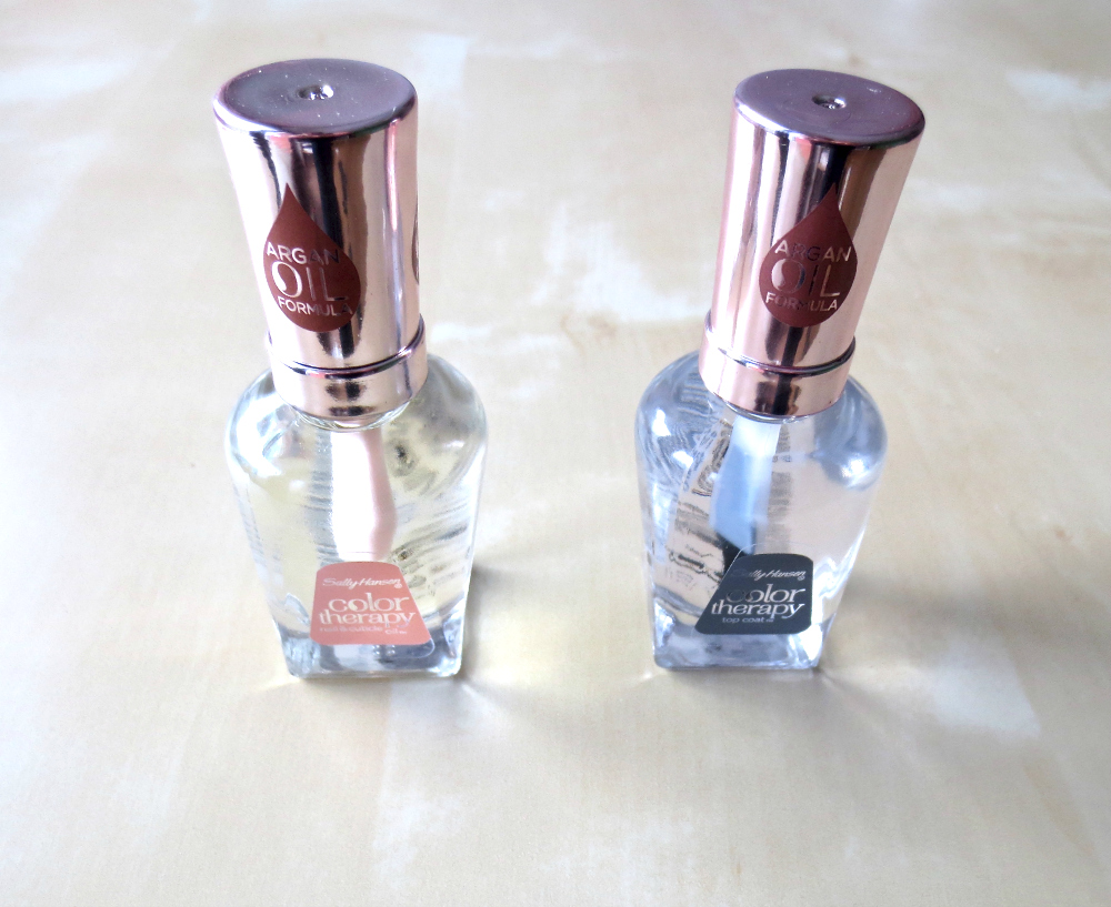 Sally Hansen Color Therapy Nagelöl und Top Coat