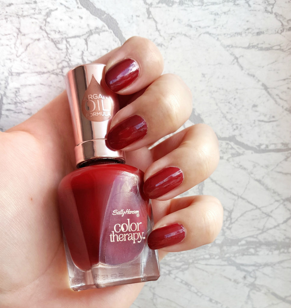Sally Hansen Color Therapy Unwine'd Tragebild