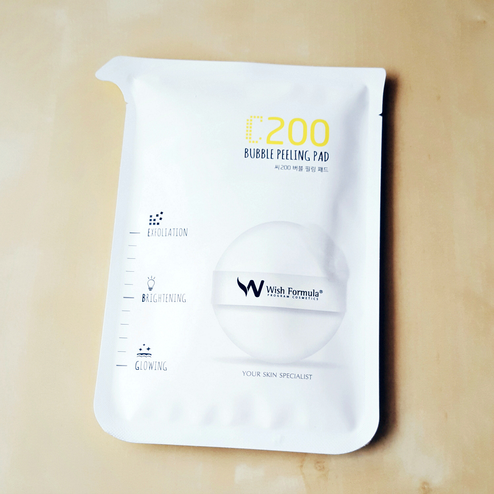 C200 Wish Formula Bubble Peeling Pad