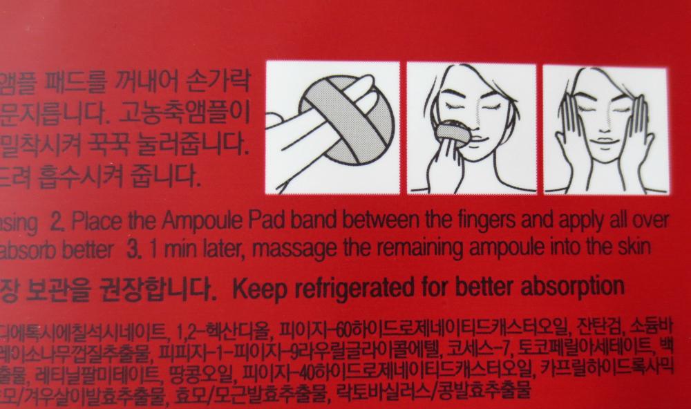 Wish Formula I'm Pro Ampoule Pad Vitamin C