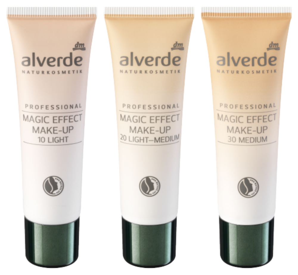 alverde professional magic effect makeup