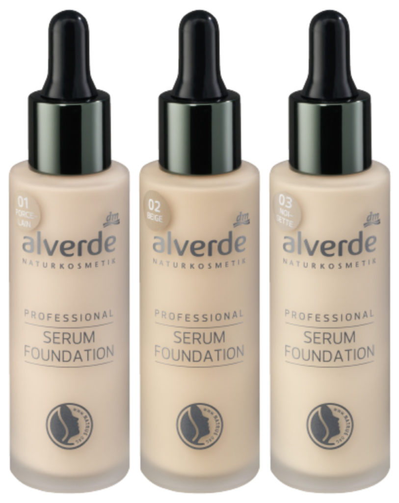 alverde serum foundation