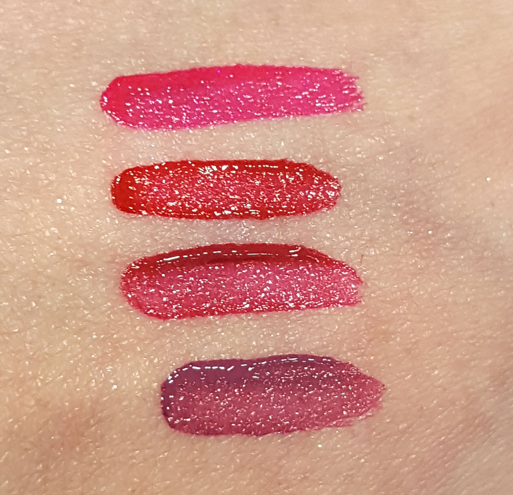 Catrice Aqua Ink in Gloss Lip Stains Swatches