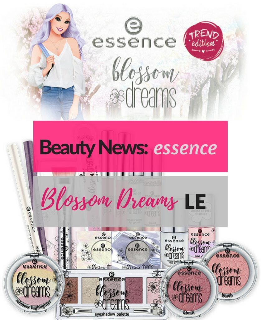 essence blossom dreams Limited Edition Header
