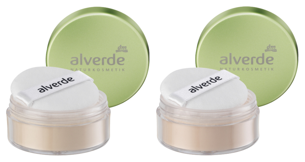 alverde loose powder foundation