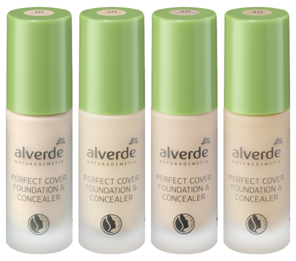 alverde perfect cover & concealer