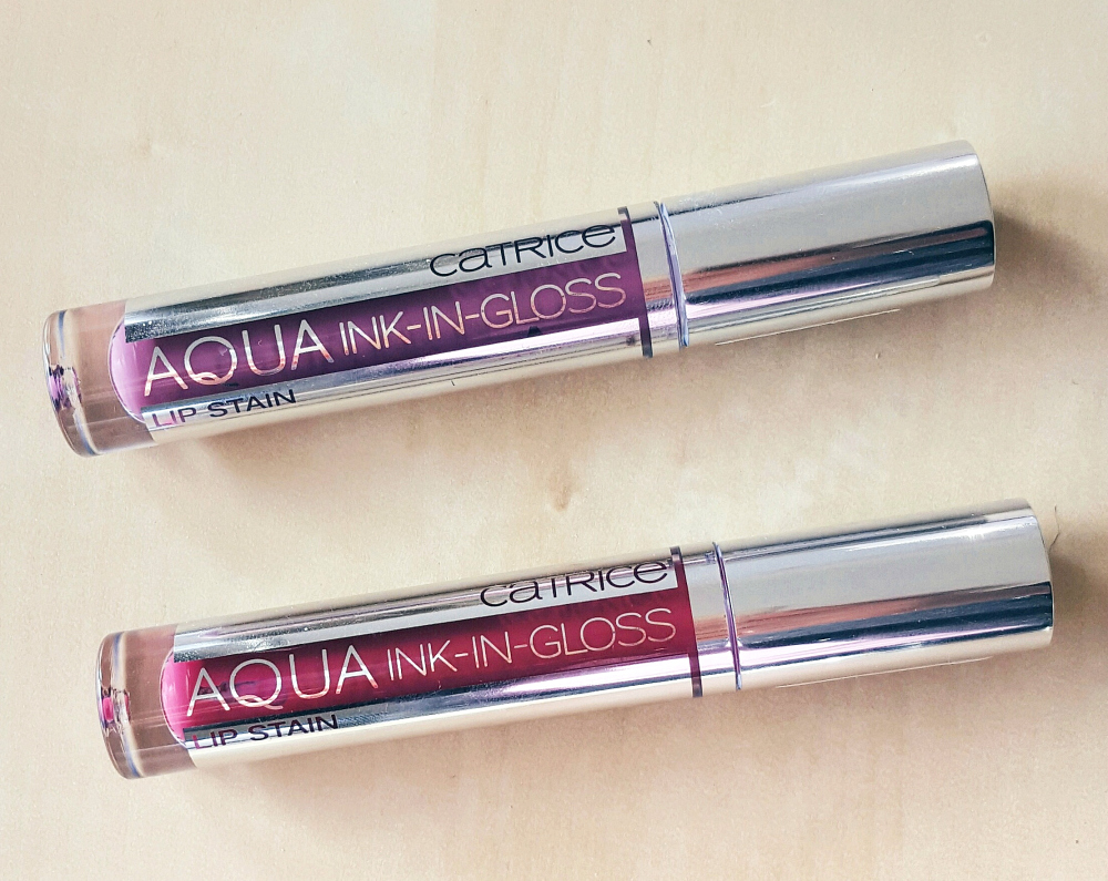 Catrice Aqua Ink-In-Gloss Lip Stains 030 und 040