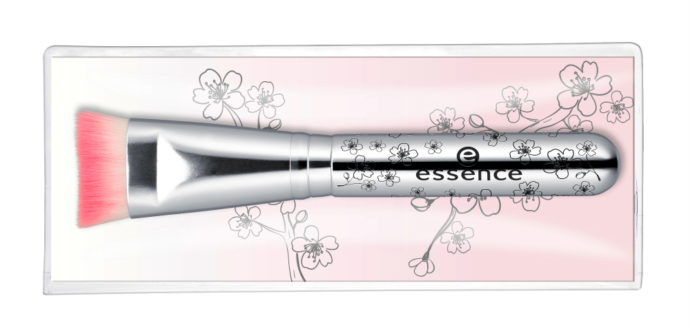 essence blossom dreams Limited Edition highlighter und blush brush