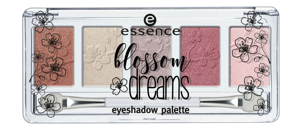 essence blossom dreams Limited Edition eyeshadow palette
