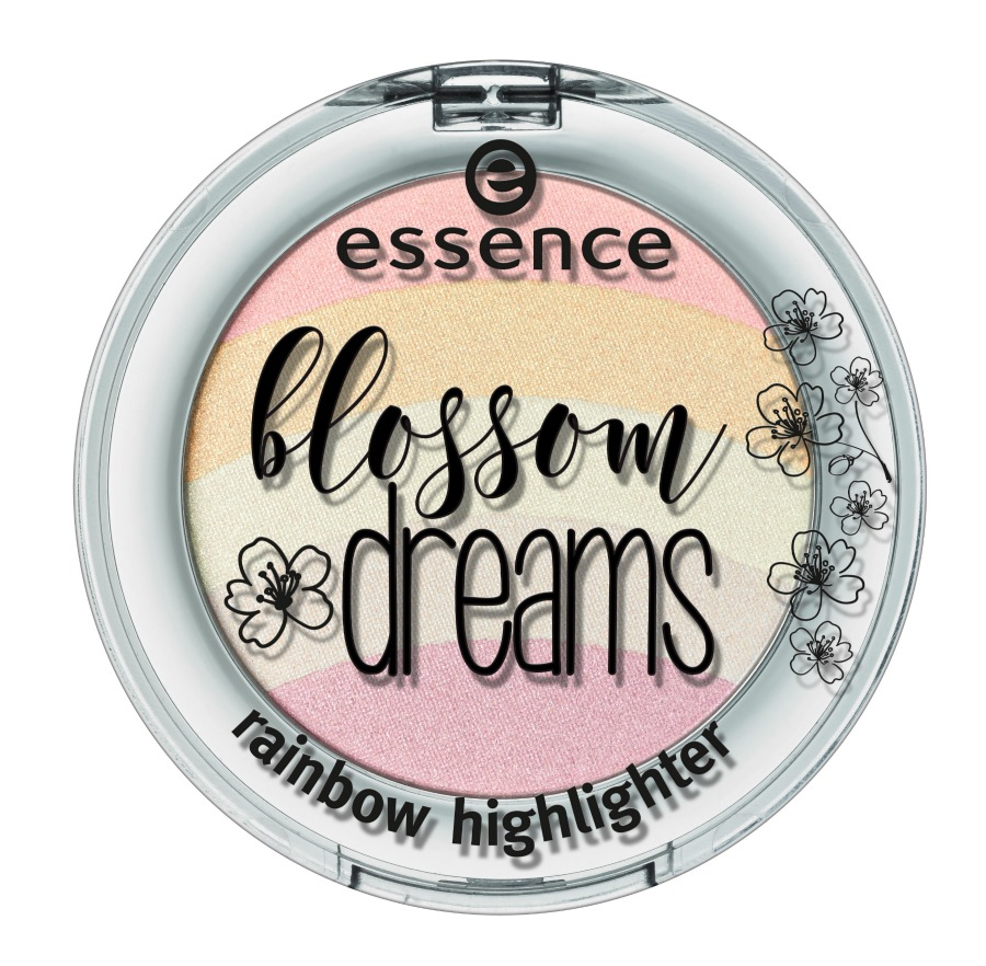 essence blossom dreams Limited Edition rainbow highlighter