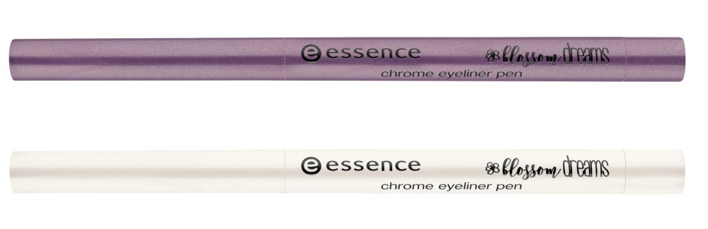 essence blossom dreams Limited Edition chrome eyeliner pen