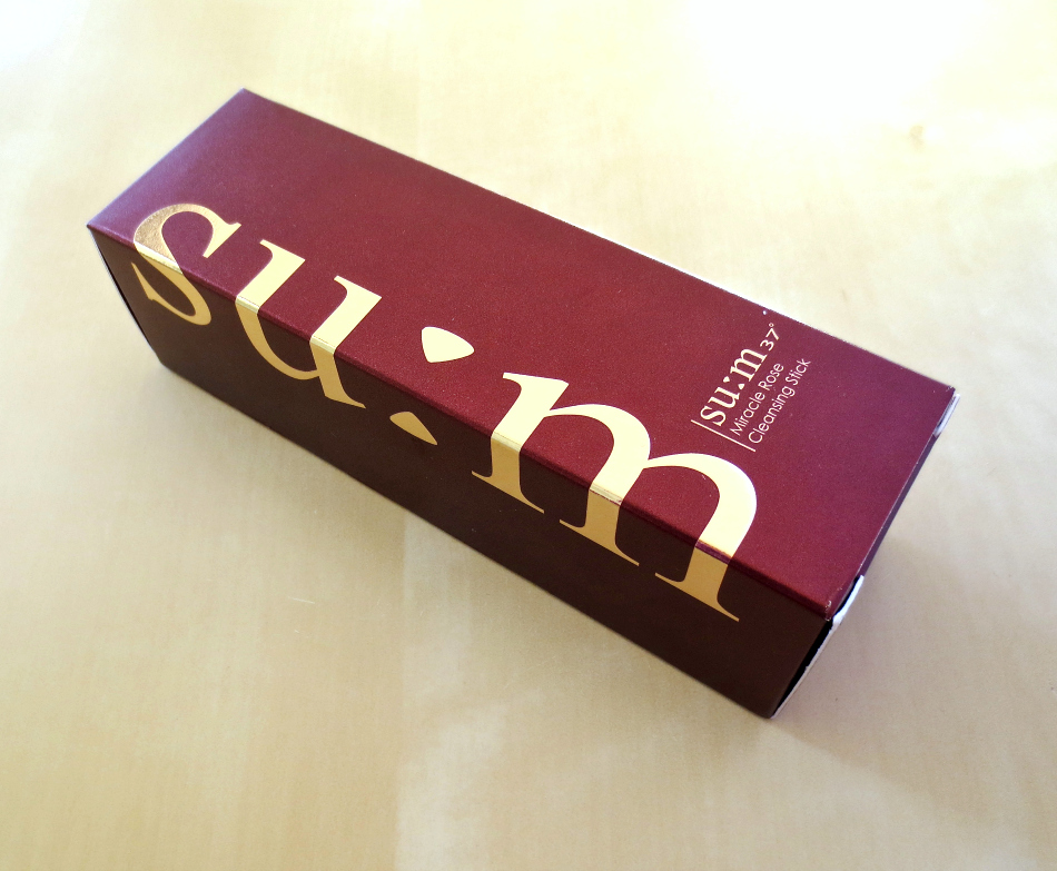 su:m37 miracle rose cleansing stick verpackung