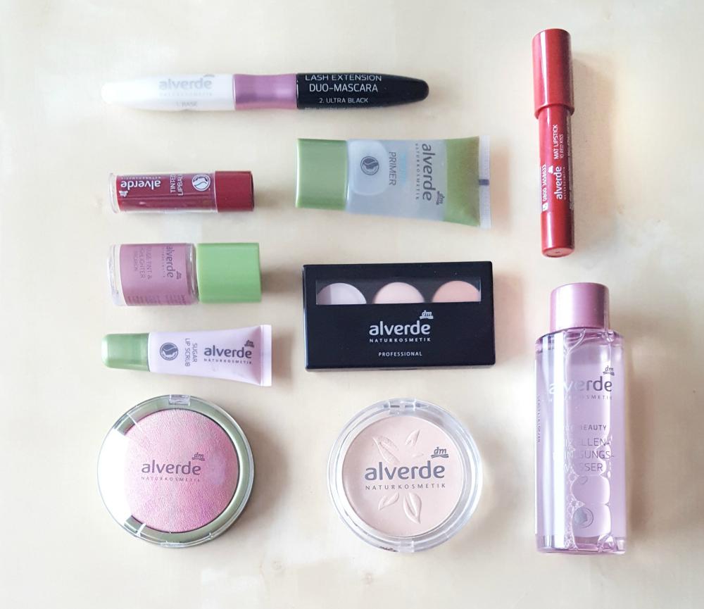 alverde makeup neuheiten 2017 Übersicht