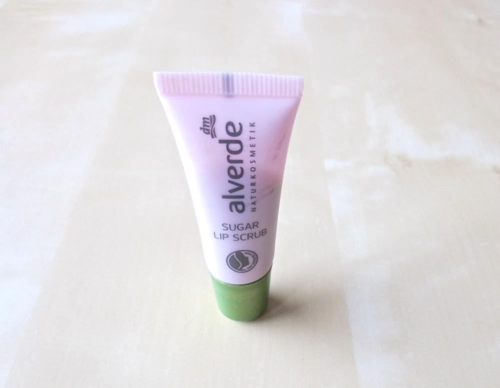 alverde makeup neuheiten 2017 - sugar lip scrub