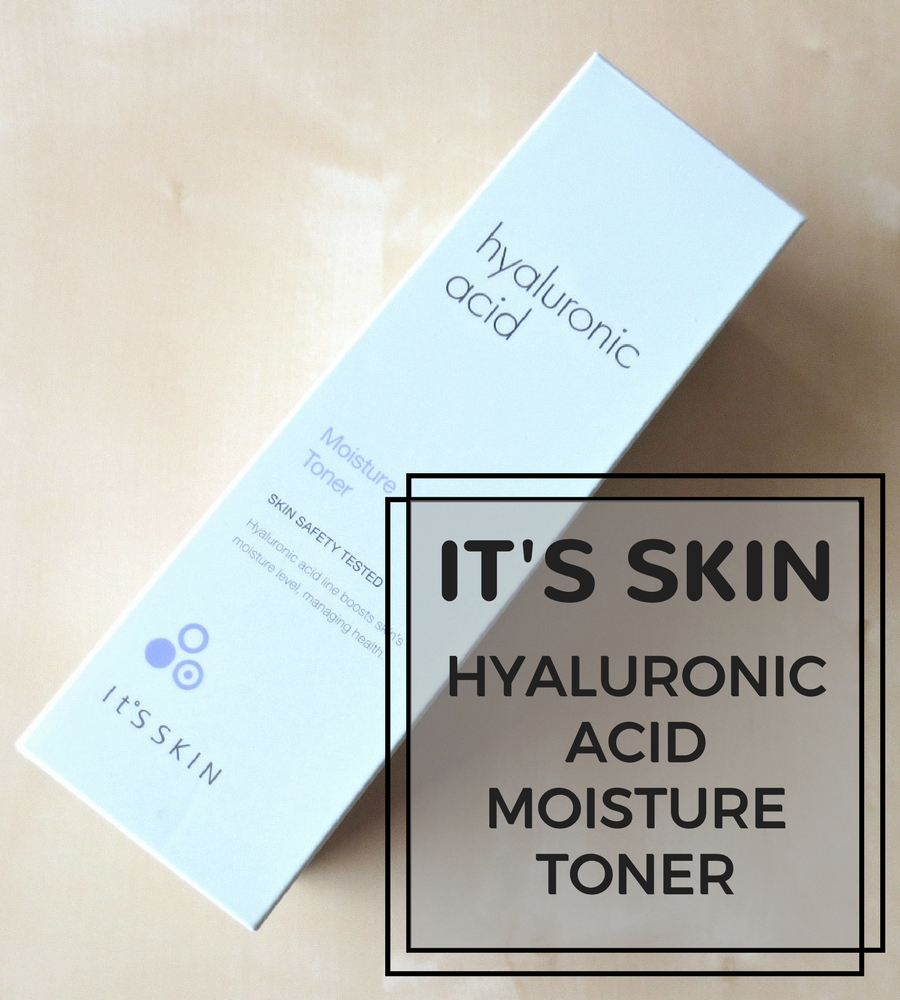 It's Skin Hyaluronic Acid Moisture Toner Header