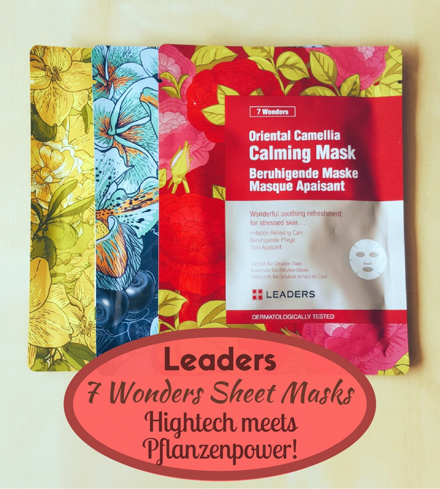 Leaders 7 Wonders Sheet Masks – Hightech meets Pflanzenpower!