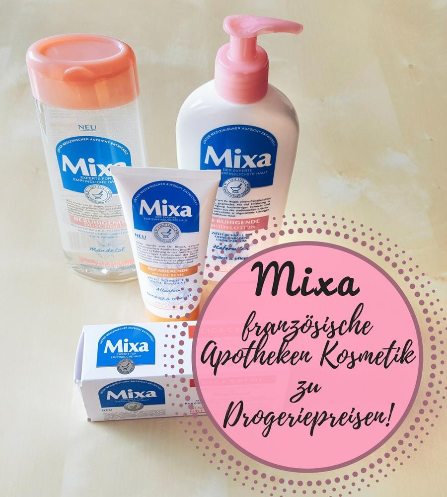 [Anzeige] Mixa – französische Apotheken Kosmetik zu Drogeriepreisen!