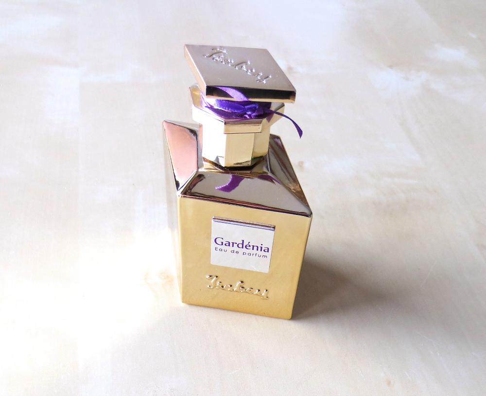 Isabey Gardenia Eau de Parfum goldener Flakon