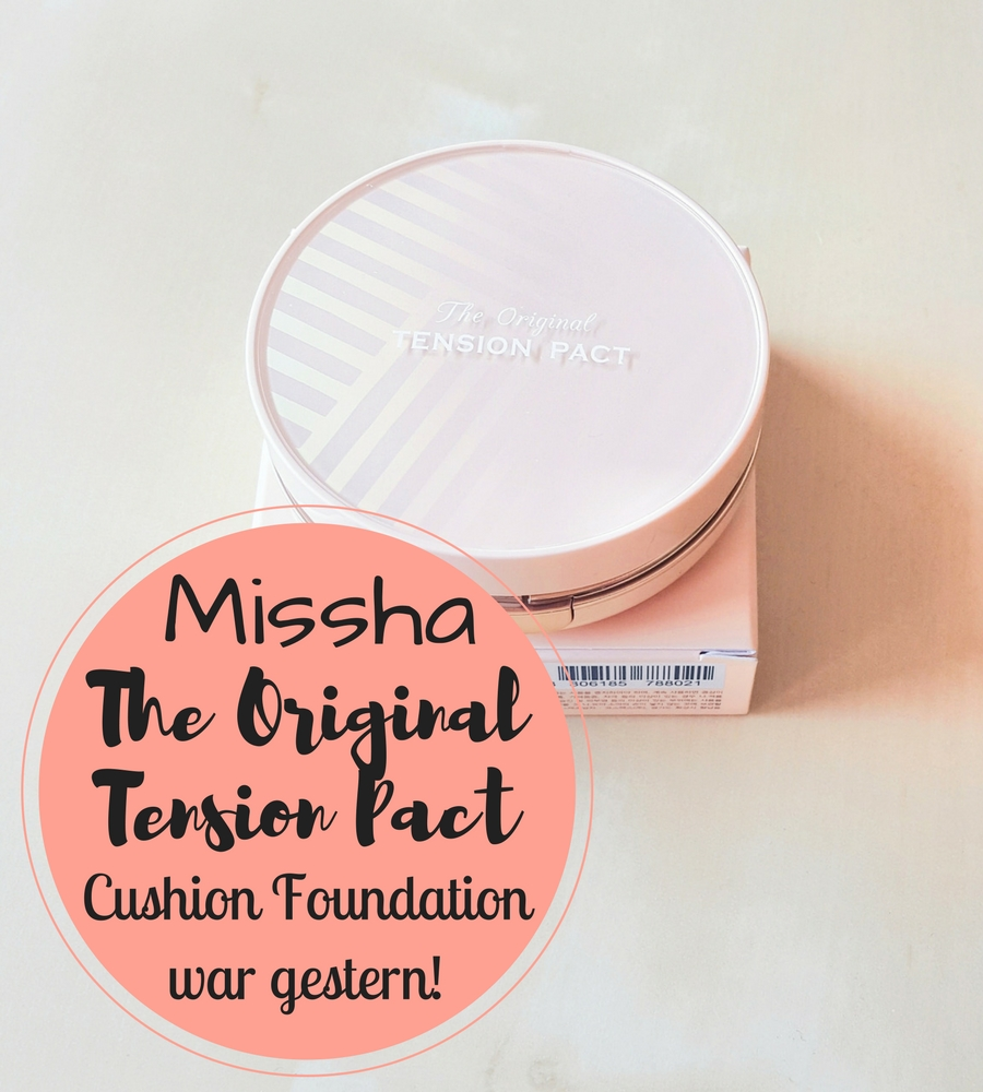 Missha The Original Tension Pact Header