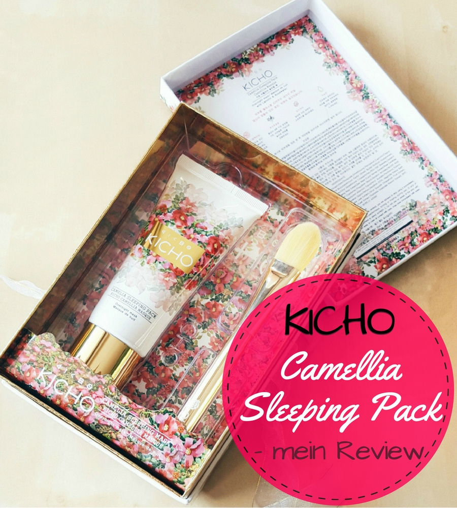 Kicho Camellia Sleeping Pack – KBeauty Review