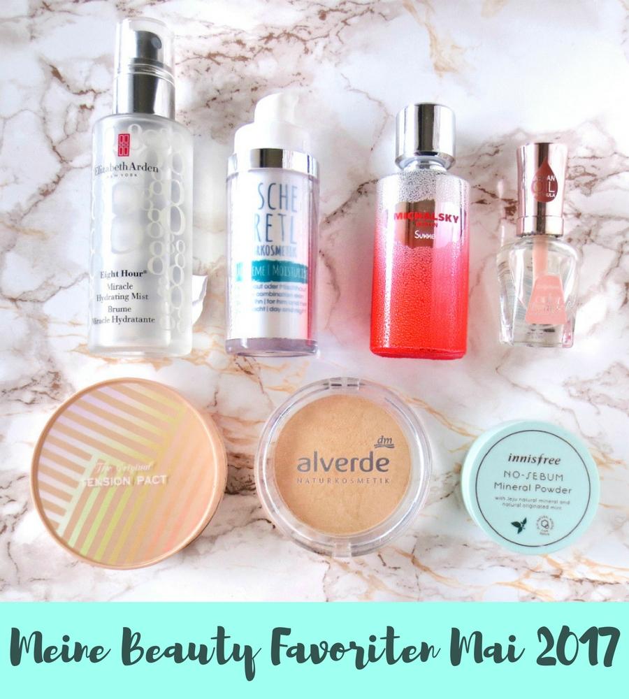 Beauty Favoriten Mai 2017 Header