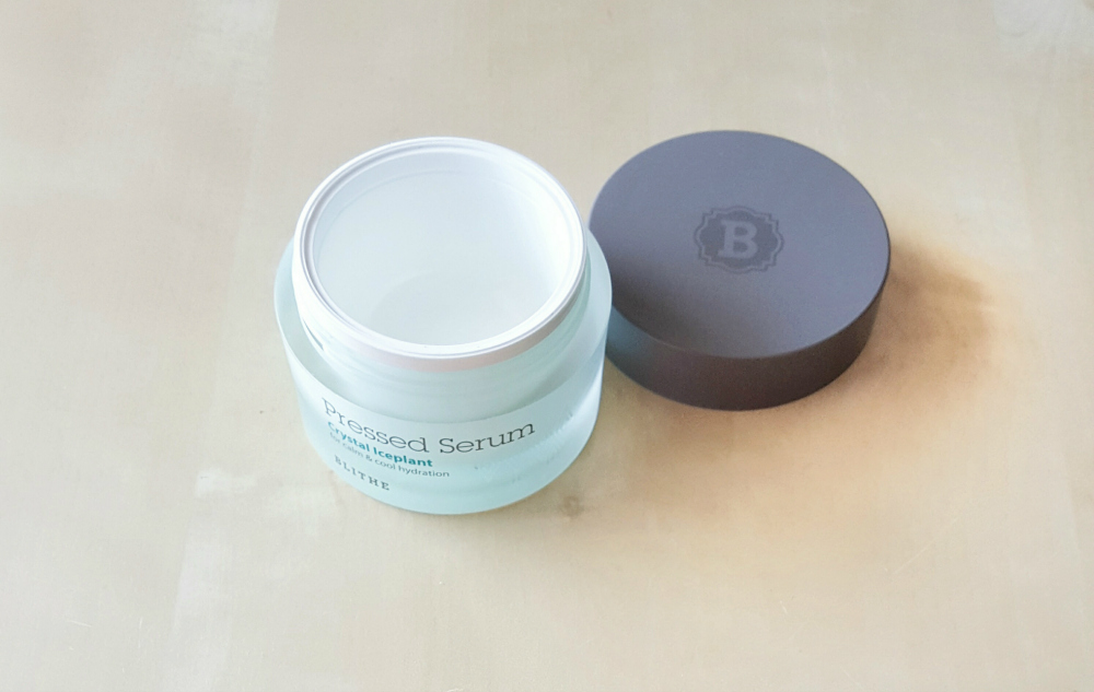 K-Beauty Empties: Blithe Pressed Serum Crystal Iceplant leergemacht