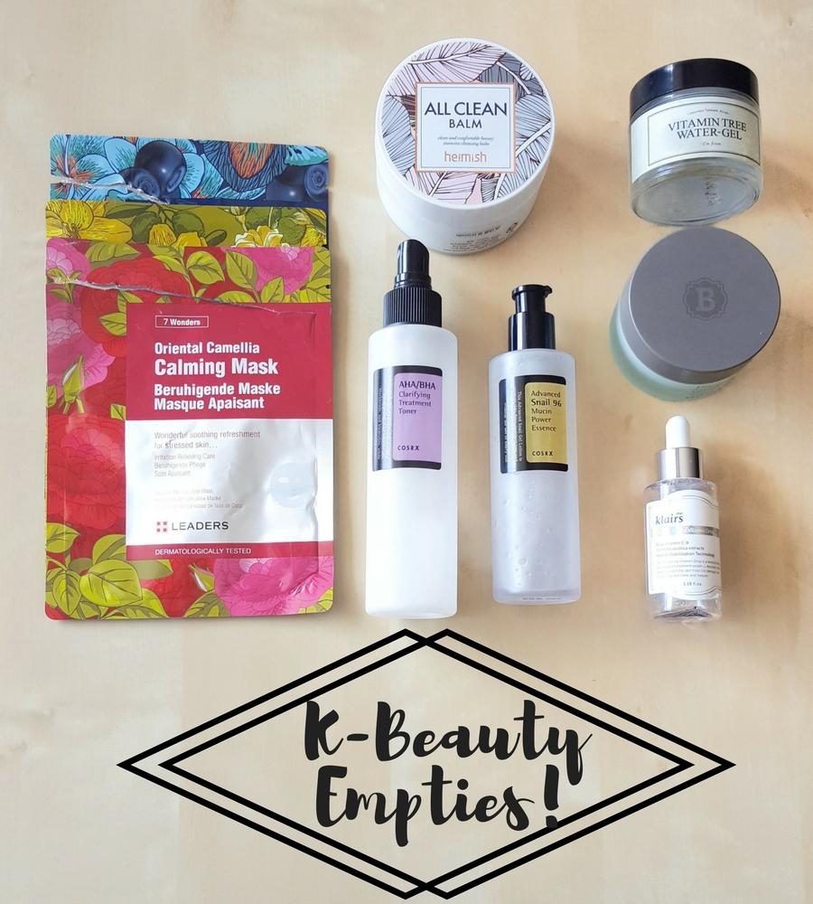 K-Beauty Empties: Koreanische Kosmetik aufgebraucht!