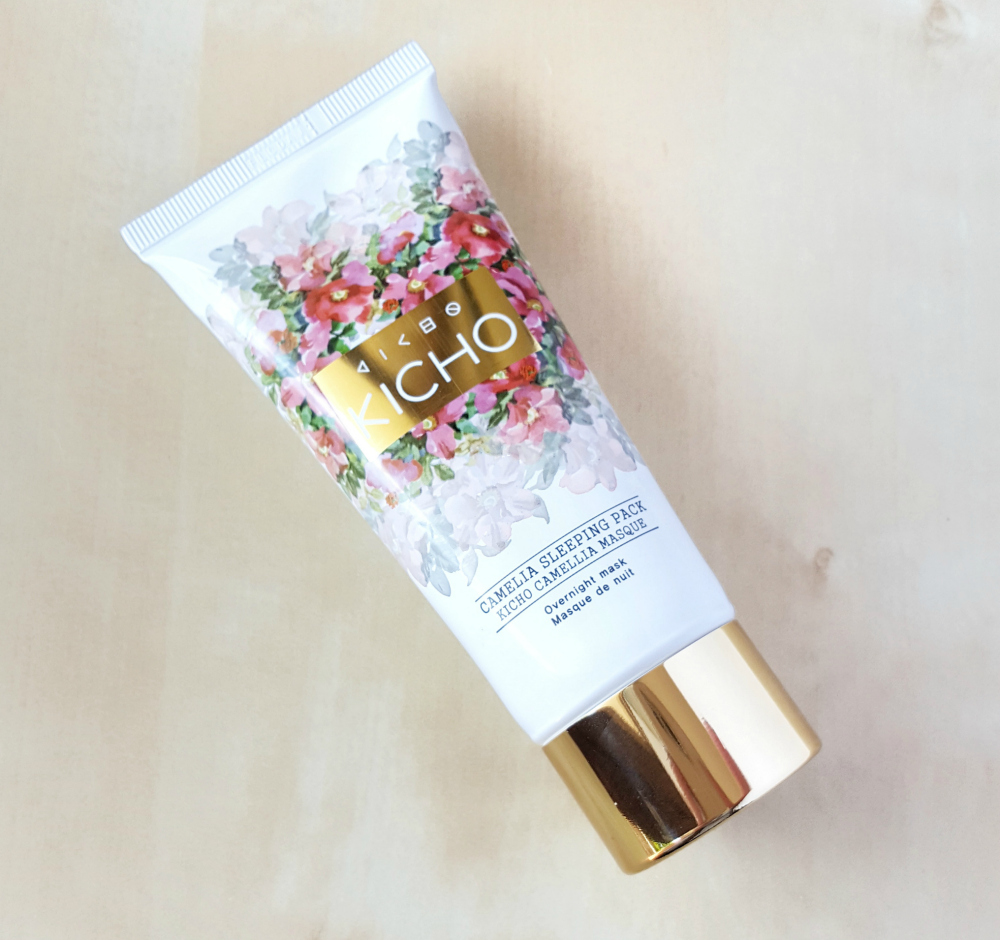 Kicho Camellia Sleeping Pack overnight mask