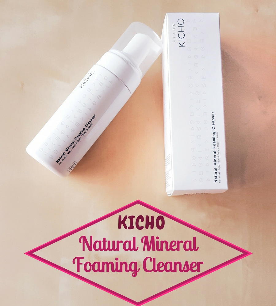 Kicho Natural Mineral Foaming Cleanser – mein Review!