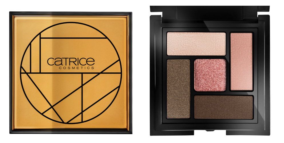 Catrice soleil d'été Limited Edition Metal-Infused Eye Palette
