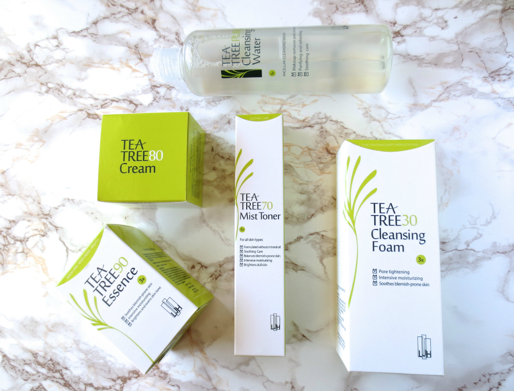 LJH Leejiham Tea Tree Pflegeserie