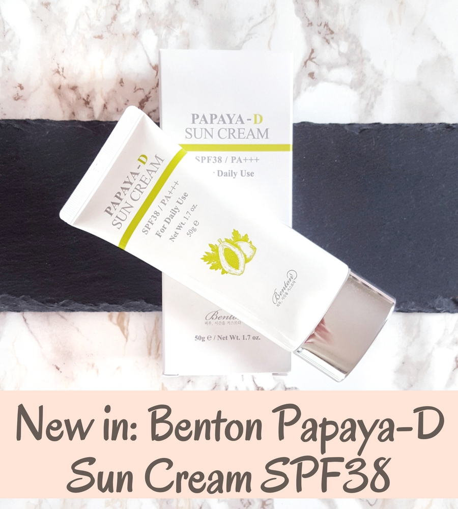 Benton Papaya D Sun Cream Header