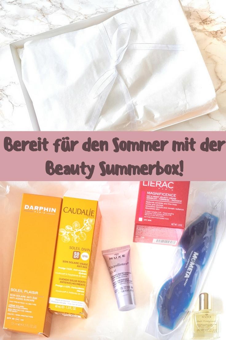 Bereit für den Sommer mit der Beauty Summerbox