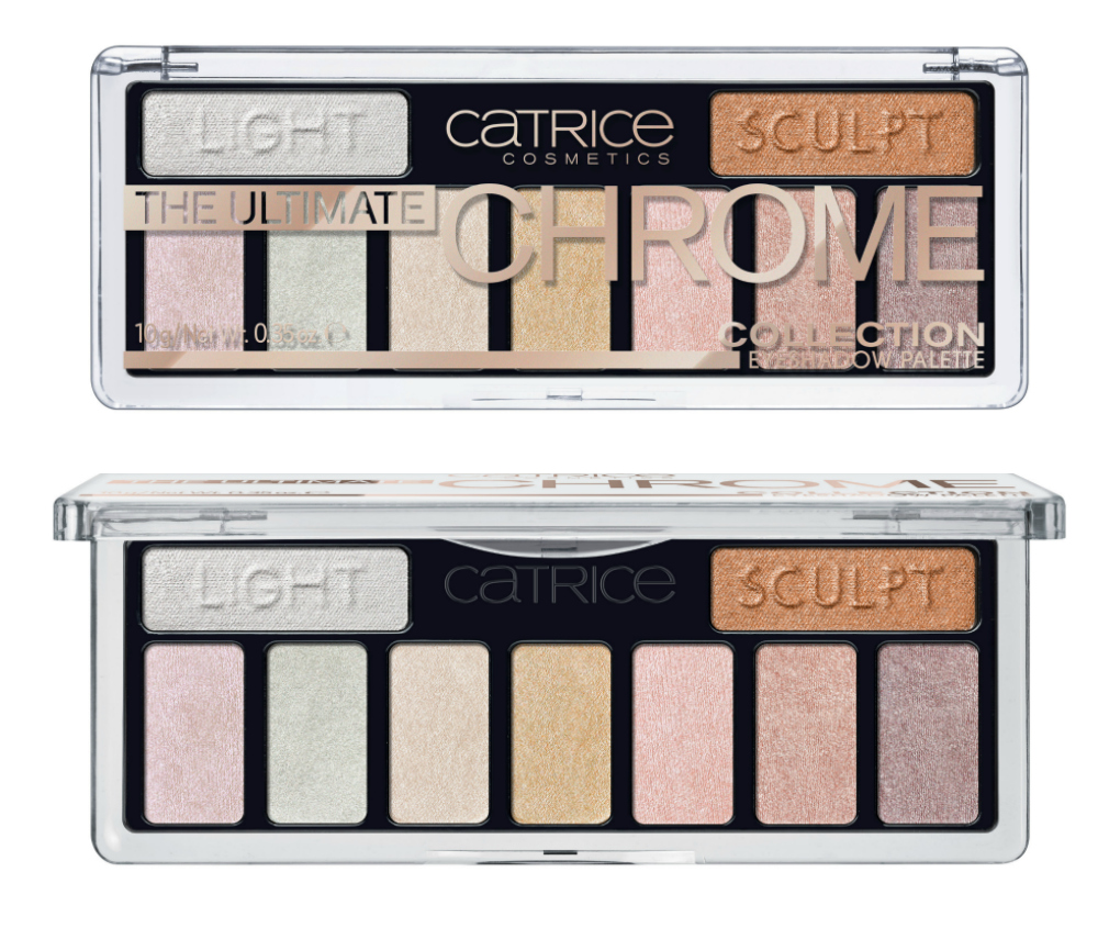 Catrice Neuheiten Herbst 2017 The Ultimate Chrome Collection Palette