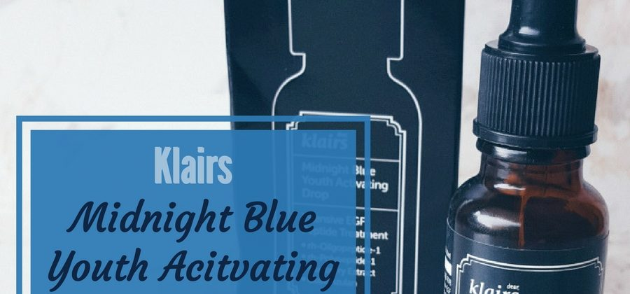 Klairs Midnight Blue Youth Activating Drop anti-aging Peptid Serum!