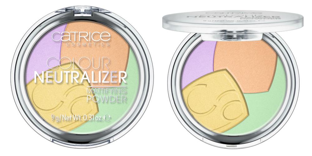 Catrice Neuheiten Herbst 2017 Colour Neutralizer Mattifying Powder