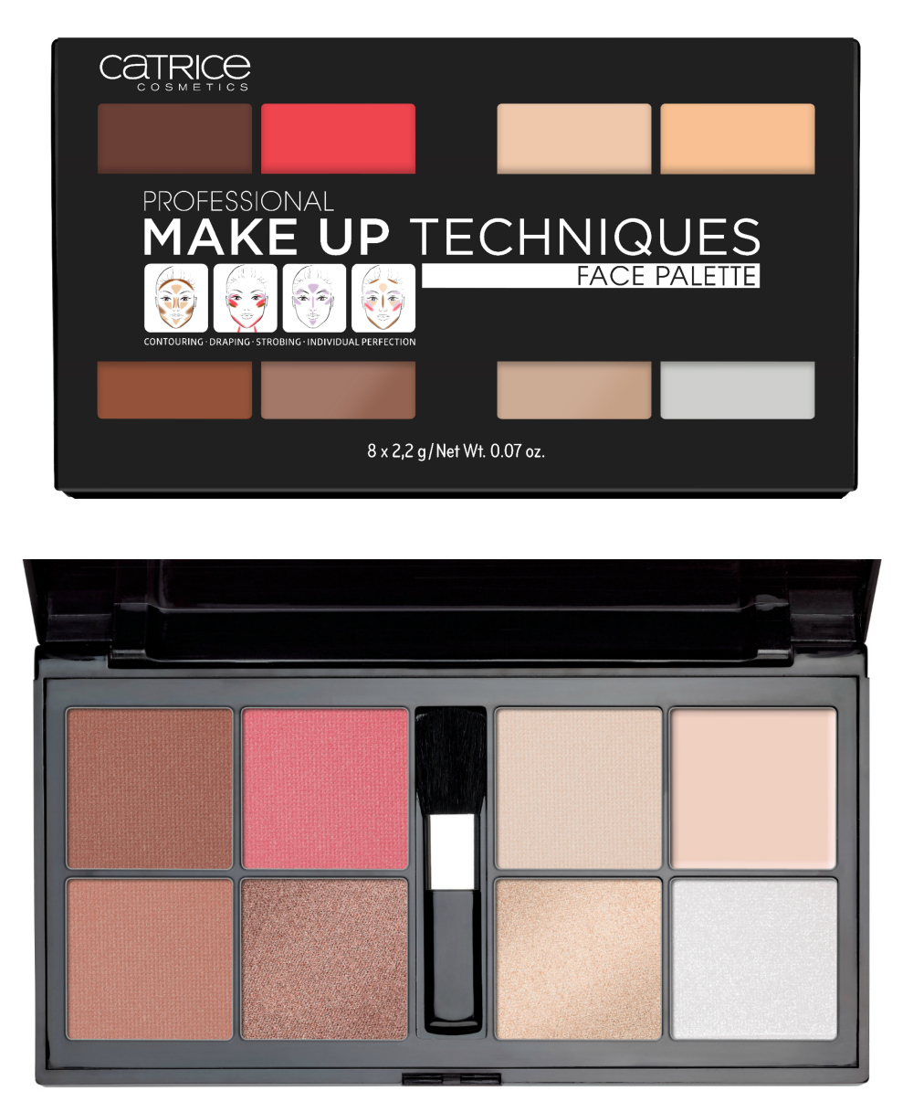Catrice Neuheiten Herbst 2017 Professional Makeup Techniques Face Palette