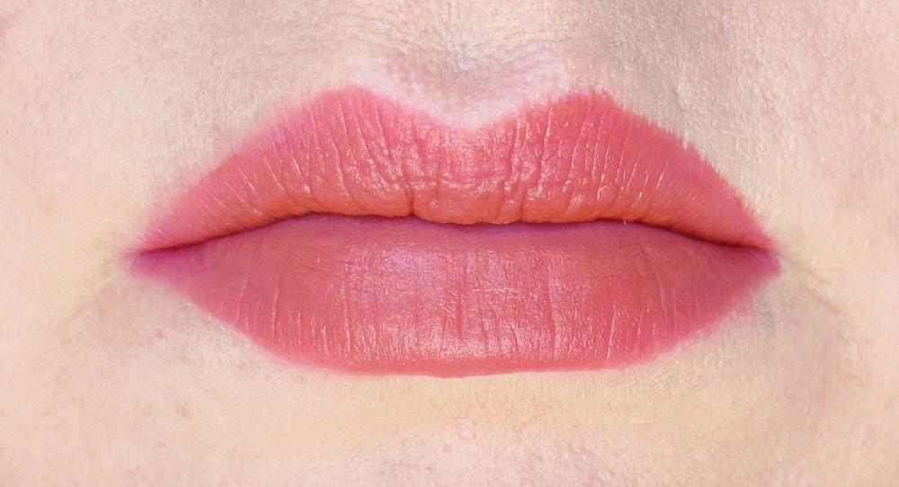 Periperas Ink Velvet Lip Tint Celeb Deep Rose Swatch