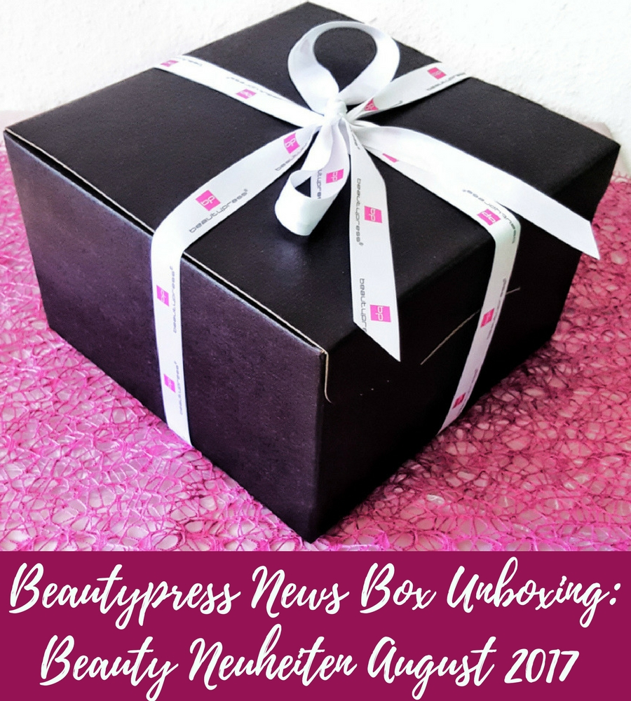 Beautypress News Box Unboxing: Beauty Neuheiten August 2017
