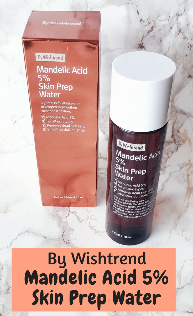 Review of the By Wishtrend Mandelic Acid 5% Skin Prep Water