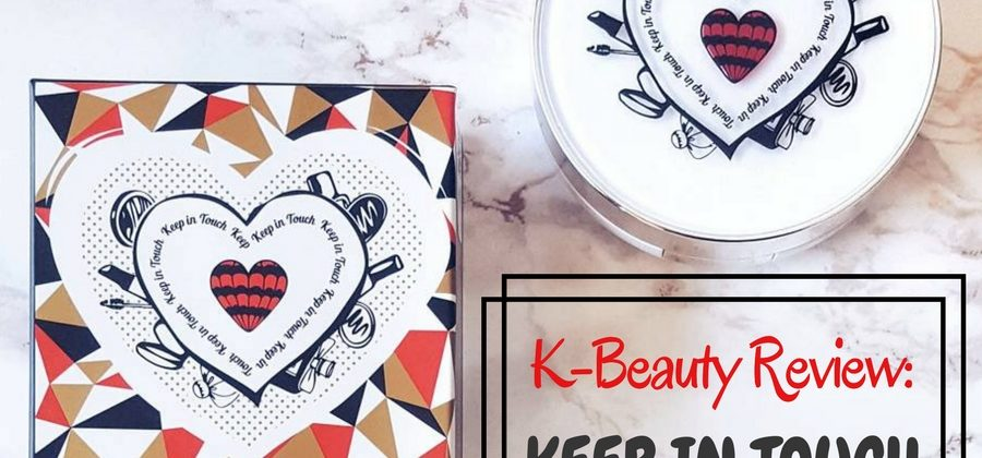 K-Beauty Review: Keep in Touch White Blending Base Cushion