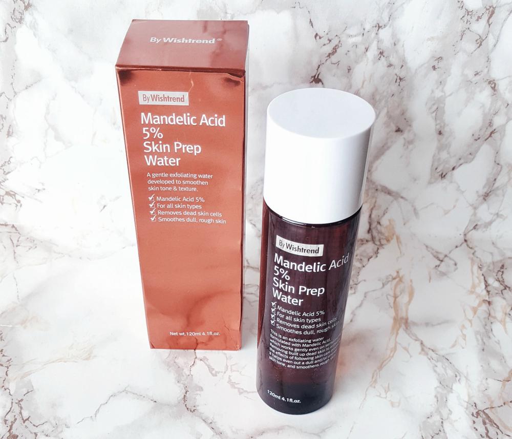 by wishtrend mandelic acid 5% skin prep water korean skincare