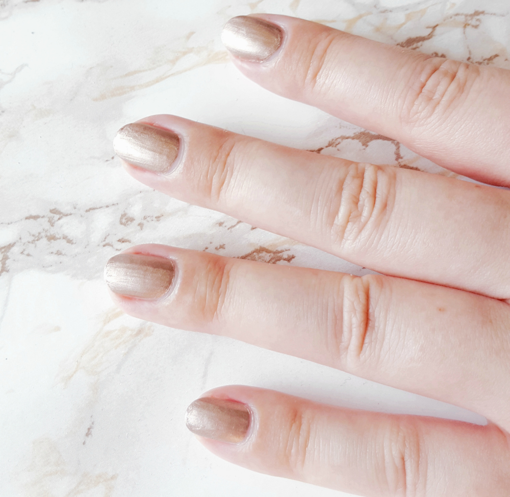 Catrice ICONails challenge go for gold ergebnis 7 tage