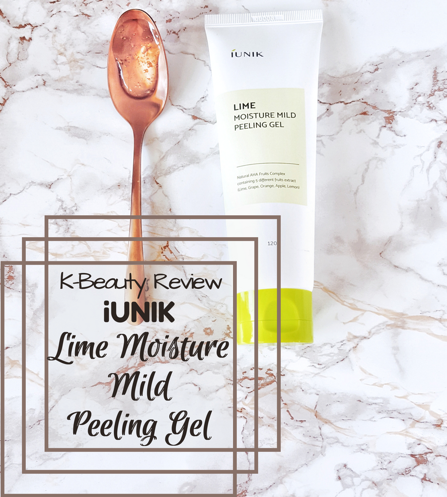 iUNIK Lime Moisture Mild Peeling Gel – KBeauty Review (English)